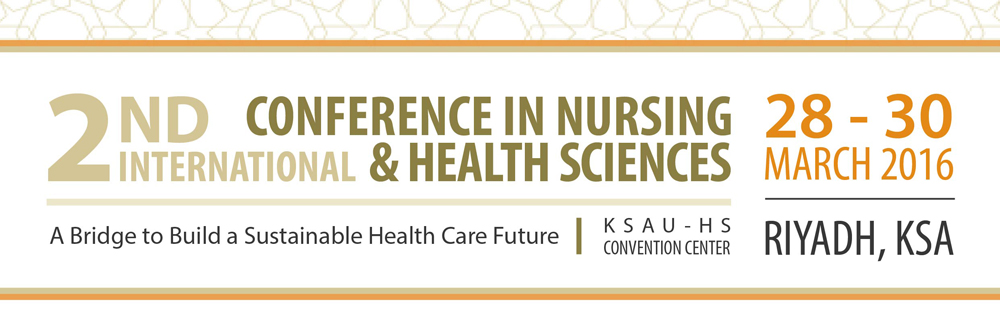 2nd International Conference in Nursing and Health Sciences