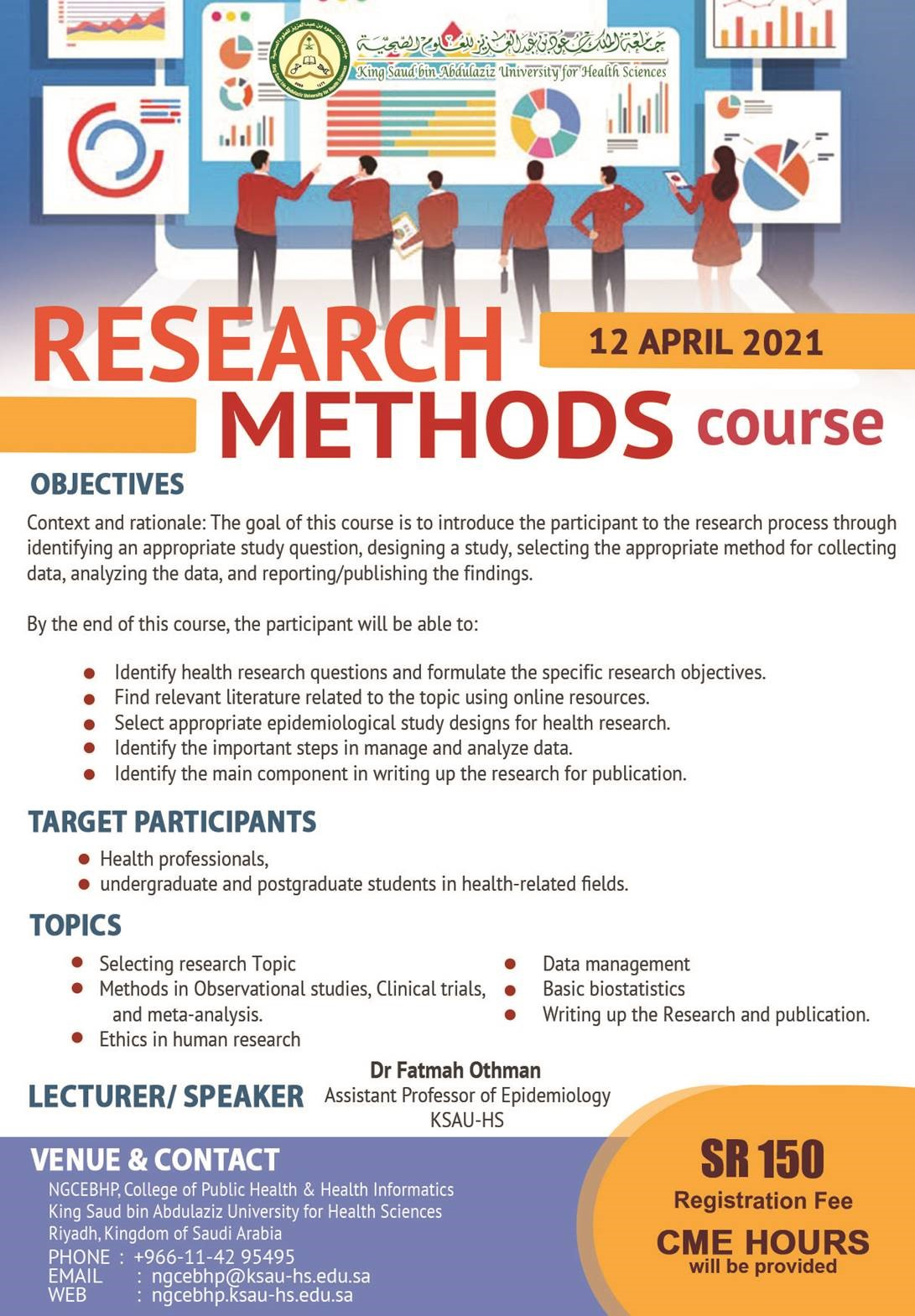 (RESEARCH METHODS COURSE (12 APR 2021