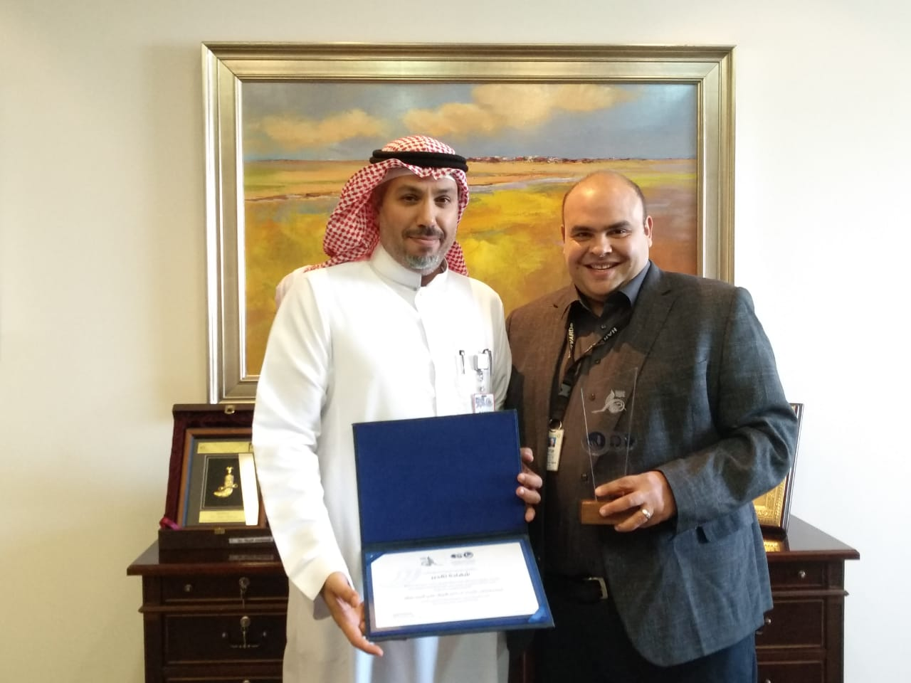 PROFESSOR SHERIF ALY SAKR AWARDED BY THE ABDUL HAMEED SHOMAN FOUNDATION AS 2019 BEST ARAB SCHOLAR IN THE TECHNOLOGICAL FIELD